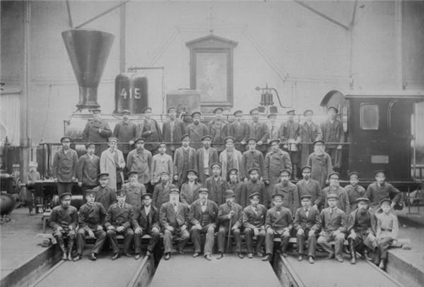 (4)俄国的铁路工人。.JPG
